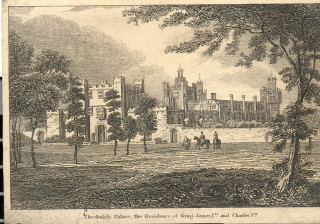 Theobalds Palace, residence of King James I and Charles I | Hertfordshire Archive & Local Studies