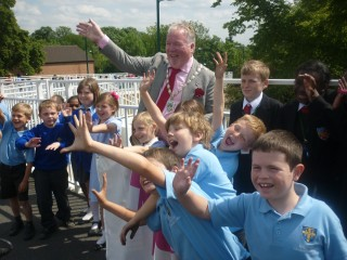 Official Opening of the A10 Footbridge 19 May 2011