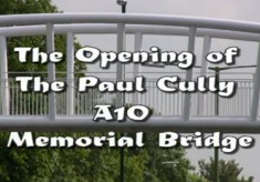 Video of the opening of the Paul Cully Memorial Bridge