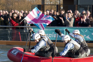 Action at the White Water Centre   Courtesy of Lee Valley Park