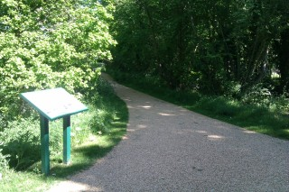 New footpath connecting the Ball and Howard Gardens | John Birch