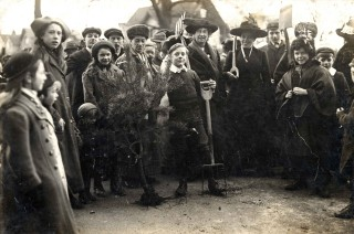 Arbor Day, 8th March 1913 | First Garden City Heritage Museum