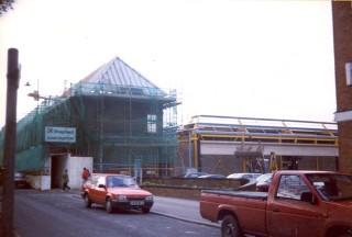 Morrisons under construction