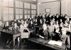 Class 1 Westbury School Letchworth 1932