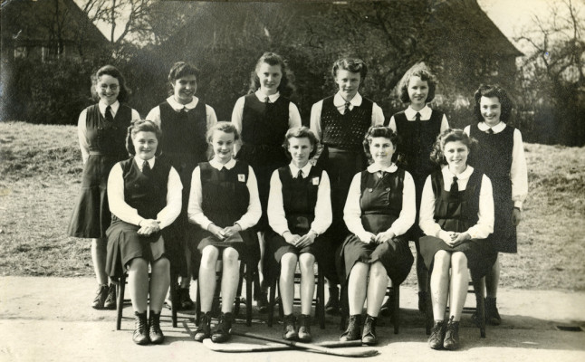 Letchworth Grammar School, 1944-45 | First Garden City Heritage Museum (not to be reproduced without permission)