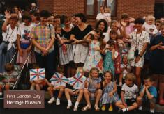 1993 Queen Elizabeth II opens Tabor Court
