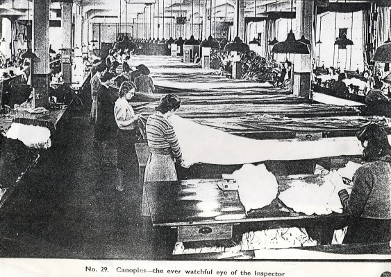 Irvin Air Chute Factory
