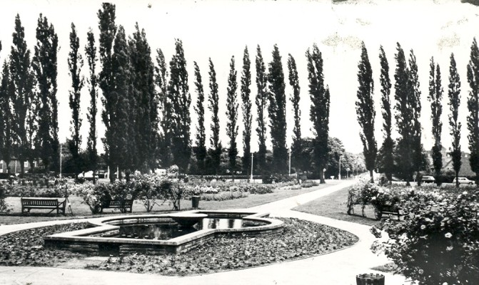 John Kennedy Memorial Gardens, 1960 | Hertfordshire Archives and Local Studies