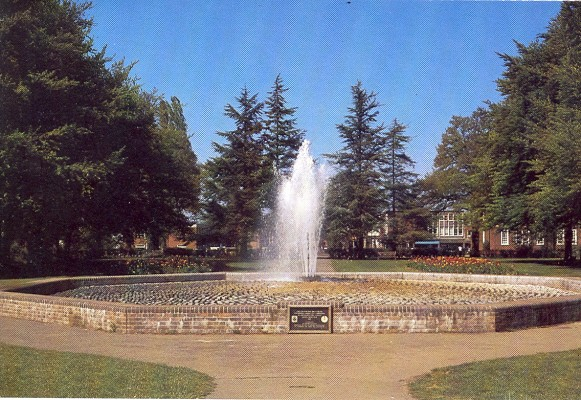 The Kennedy Gardens in 1984