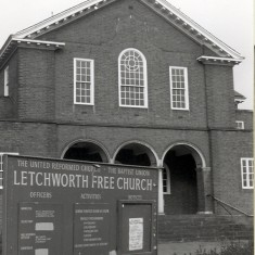 The Church on Norton Way South taken in 1988 | K Johnson