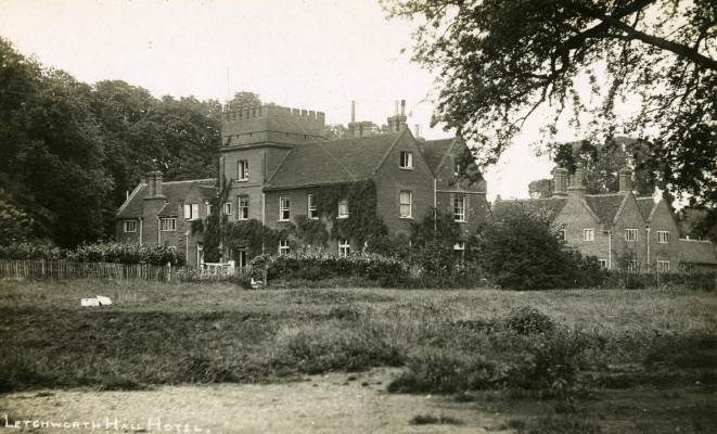 Letchworth Hall, early 20th century | First Garden City Heritage Museum