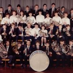 Norton School Band c.1983