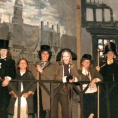 Oliver production at St Francis in 70s