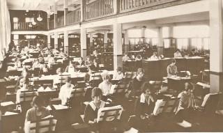The Spirella Factory General Office, 1925 | Kingsway Real Photo Series