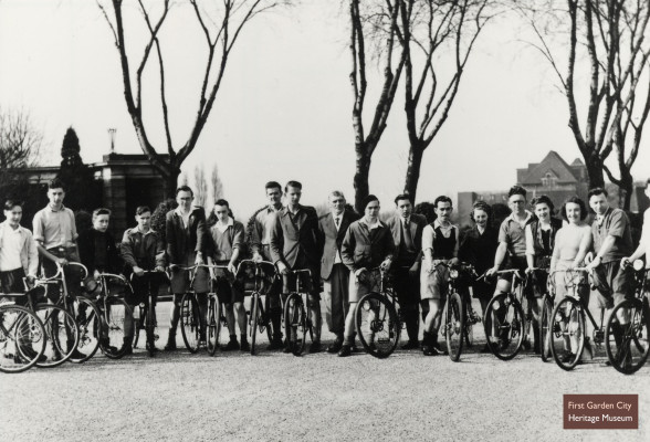 Letchworth Cycling Club, 1945 | First Garden City Heritage Museum