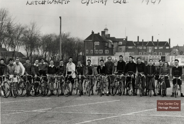 Letchworth Cycling Club, 1947 | First Garden City Heritage Museum