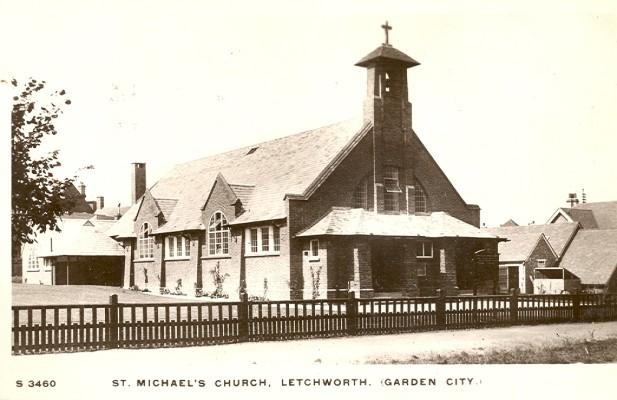 St. Michaels Church. Pre 1919   Kingsway Real Photo Series