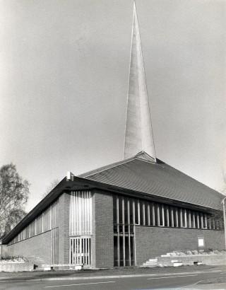 Outside view taken in 1975