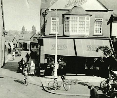 Boots Cash Chemist, Leys Avenue, c. 1930s | LGC Heritage Museum