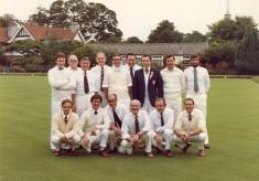 The bowls club in Letchworth