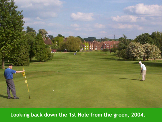 Golf at Letchworth | First Garden City Heritage Museum (not to be reproduced without permission)