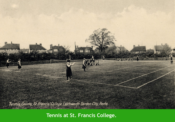 Tennis in Letchworth | First Garden City Heritage Museum (not to be reproduced without permission)