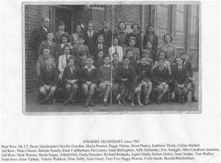 Pixmore School | Grateful thanks to Brenda Brackenbury, as Dad's Mum couldn't afford to buy this photo when it was taken and it was the first time he had seen it in 2012!