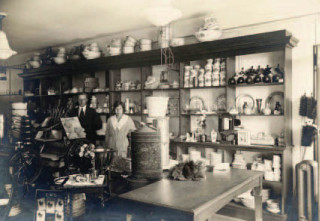 The Hardware Department of the Co-operative Store. c 1920