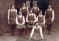 Westbury School Netball Team 1930-1931