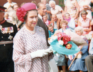 Queen Elizabeth II visits Letchworth to open the new Leisure Centre in 1982 | Desiree Hughes