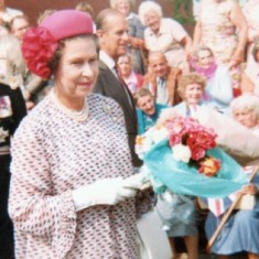 Queen visit to Leisure Centre