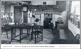 Interior of Elmwood Cottages   Letchworth Garden City Heritage Foundation