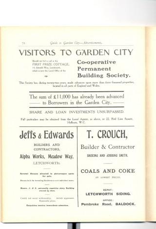 The original guide to Letchworth Garden City