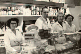 Staff at Fine Fare, Eastcheap, c. 1960s. Fine Fare was a national chain of supermarkets established in the 1950s. Their headquarters were in Welwyn Garden City. In 1985, the company merged with The Dee Corporation which is now known as Somerfield and the Fine Fare name disappeared.