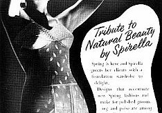 "Meanderings of Maude-1939/1940-newsletter from Spirella ""Threads"" magazine"