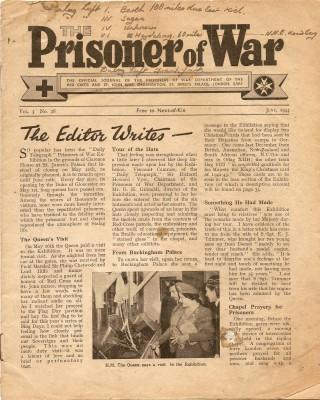 Prisoner of War magazine | Terry Askew