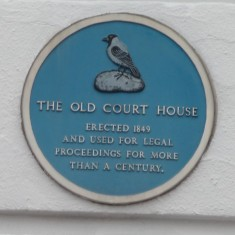 THE OLD COURT HOUSE: After its use as a courthouse this building has undergone several changes of ownership including an estate agents, travel agents and now a restaurant and the façade of the building has been redecorated and repainted as close to the original colour scheme as possible. | Tim Shepherd