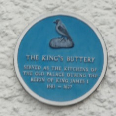 THE KING'S BUTTERY: Situated between the Palace and the Guard House even today this Elizabethan building is still used to provide food - as a Fish and Chip Shop! | Tim Shepherd