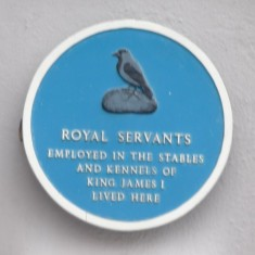 ROYAL SERVANTS: Now occupied by a pizza parlour, a very unassuming little building, whose origins are given away by a bay window almost touching the pavement outside. This row of cottages was occupied by the stable and kennel staff. | Tim Shepherd