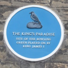 THE KING'S PARADISE: A private bowling green for the king and his court, and a short walk from the palace, on the opposite side of the road to the Royal Servants. It is believed that other 'sports' took place here such as bear baiting and cock fighting. | Tim Shepherd
