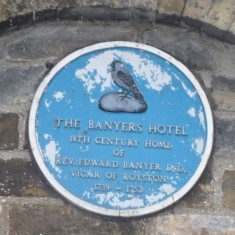 THE BANYERS HOTEL: After the Banyers was sold by the family, the house became the home of the Beldam family and it is quite possible that Joseph Beldam wrote the tracts published by the Society for the Abolition of Slavery in this building. | Tim Shepherd