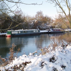 Boats on the Lea   I Fisher