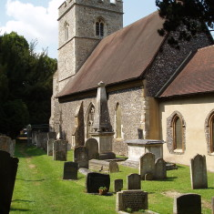 Amwell Church, the chancel end | I. Fisher