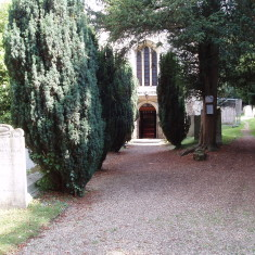 Amwell Church, the main entrance | I. Fisher