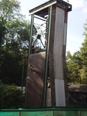Phasels Wood small climbing wall | by Beverley Small