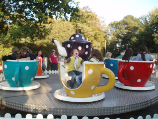 Tea cup ride | by Beverley Small