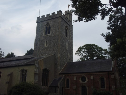 weston church | by heather davey