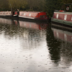 Rain on the canal | Ian Phipps