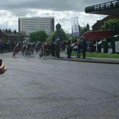Riders approaching Fourways, Hoddesdon | Nicholas Blatchley