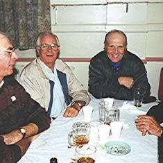 Left to right: Brian 'Bob' Palmer, Clifford 'Nipper' Hill, Ken Hedges and Mick Day | Geoff Webb